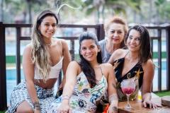 Talita Travessoni, Lara Travessoni, Etel Rios e Márcia Travessoni
