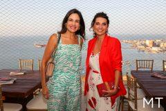 Ana Virginia Martins e Márcia Travessoni