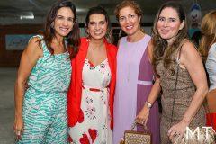 Ana Virginia Martins, Márcia Travessoni, Ticiana Rolim e Águeda Muniz