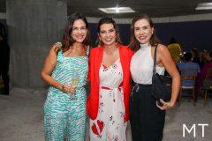 Ana Virginia Martins, Márcia Travessoni e Anne Alcântara