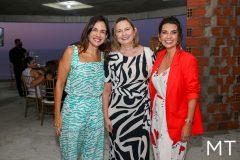 Ana Virginia Martins, Renata Santiago e Márcia Travessoni