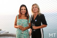 Ana Virginia Martins e Monique Gurgel