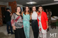 Lia Freire, Ana Virginia Martins, Anne Alcântara e Márcia Travessoni