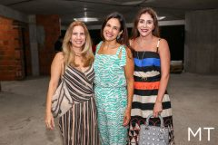 Karmilse Marinho, Ana Virginia Martins e Cris Faria
