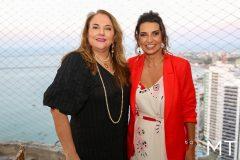 Luiziane Cavalcante e Márcia Travessoni