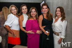 Márcia Peixoto, Anne Alcântara, Martinha Assunção, Ana Vládia Barreira e Adriana Bezerra