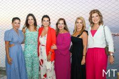 Maria Lúcia Negrão, Ana Virginia Martins, Márcia Travessoni, Martinha Assunção, Leticia Studart e Carla Pereira