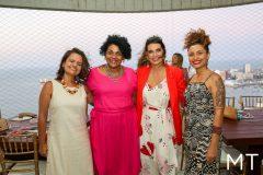 Milena Barroso, Zelma Madeira, Marcia Travessoni e Vanessa Brandão