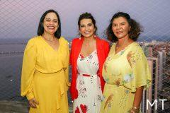 Milene Pereira, Márcia Travessoni e Brígida Frazão