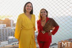 Milene Pereira e Imaculada Gordiano