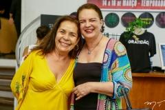 Dora Andrade e Ethel Whitehurst