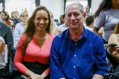 Giselle Bezerra e Ciro-Gomes