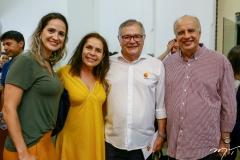 Joana Clemente, Dora Andrade, Sulivan Mota e Ivan Ary