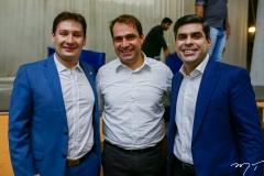 Marcos Sobreira, Salmito Filho e Queiroz Filho