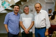 Paulo Mota, Sidney Girão e Honório Pinheiro