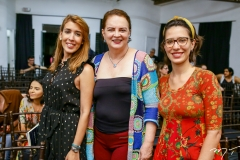 Raquel Machado, Ethel Whitehurst e Alice Frota