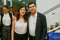 Tabata Amaral e Mauro Benevides Filho