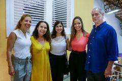 Ticiana Rolim Queiroz, Dora Andrade, Tabata Amaral, Giselle Bezerra e Ciro Gomes