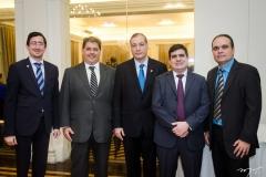 Alberto Victor, Mário Albuquerque, Glauco Cidrack, Rodrigo Uchôa e Guilherme Ellery
