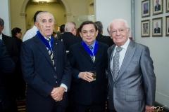 Ernando Uchôa, César Barros Leal e Paulo Roberto