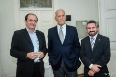 Fábio Perdigão, Paulo Lamarão e Valdécio Branco
