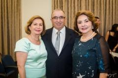 Fátima Veras, Mota Bezerra e Ilda Prisco