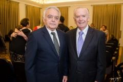 Flávio Leitão e Seridião Montenegro