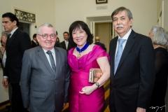 Henry Campos, Angela e Oswaldo Gutiérrez