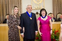 Jaqueline e Tales de Sá Cavalcante e Angela Gutiérrez