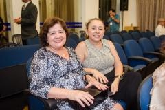 Linete Alcântara e Eliane Costa