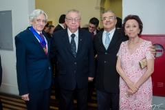 Linhares Filho, Reinaldo Teixeira, Airton Oliveira e Maria Linhares