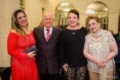 Margarete Bezerra, Airton Monteiro, Bernadete Bezerra e Fernanda Quinderé