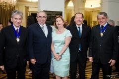 Pádua Lopes, Frota Bezerra, Fátima Veras, Idelfonso Rodrigues e José Batista de Lima