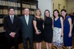 Rafael Craveiro, Carlos Barbosa, Daniela Cabral, Letícia Amorim, Ruth e Raquel Fonteles