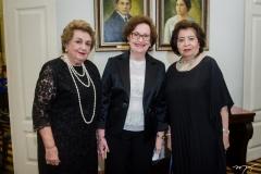 Silvia Diogo, Regina Fiúza e Edyr Rolim