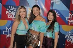 Ayane Castelo, Taliane Duarte e Dayana Couras