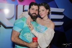 Felipe Queiroz e Paulinha Sampaio