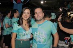 Gisele Leal e Bruno Melo
