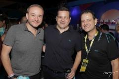 Robério Freire, Augusto Borges e Celso Luiz