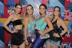 Salusa Rossas, Celina Nojosa, Juliana Barros e Bárbara Colares