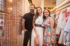 Eduardo Amarante, Natasha Cryslova e Kátia Targino
