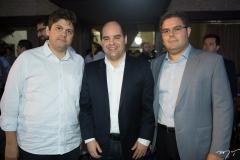 Bruno Girão, Guilherme Soares e Edson Queiroz Neto