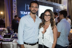 Carlos Fujita e Carolina Bichucher