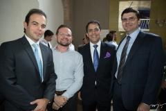 Drauzio Barros Leal, Alfredo Cordeiro, Raul Amaral e Laerte Castro Alves