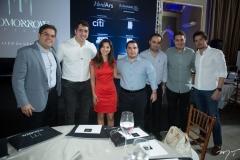 Edson Queiroz Neto, Tiago Leal, Jamila Araújo, Gustavo Pinheiro, Felipe Gurgel, Bruno Bastos e Ivens Neto