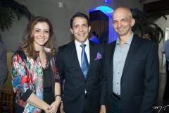 Emília Buarque, Raul Amaral e Ian Correa