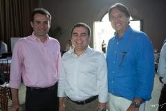 Fernando Gurgel, Fernando Linhares e Phillip Brookes
