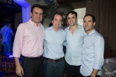 Fernando Gurgel, Fred Carvalho, Francisco Philomeno Neto e André Pontes