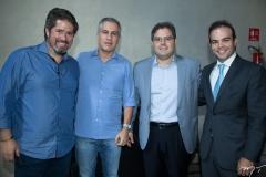 Fernando Rodrigues, Adolfo Bichucher, Edson Queiroz Neto e Drauzio Barros Leal