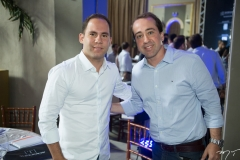 Gentil Linhares Filho e Fred Carvalho